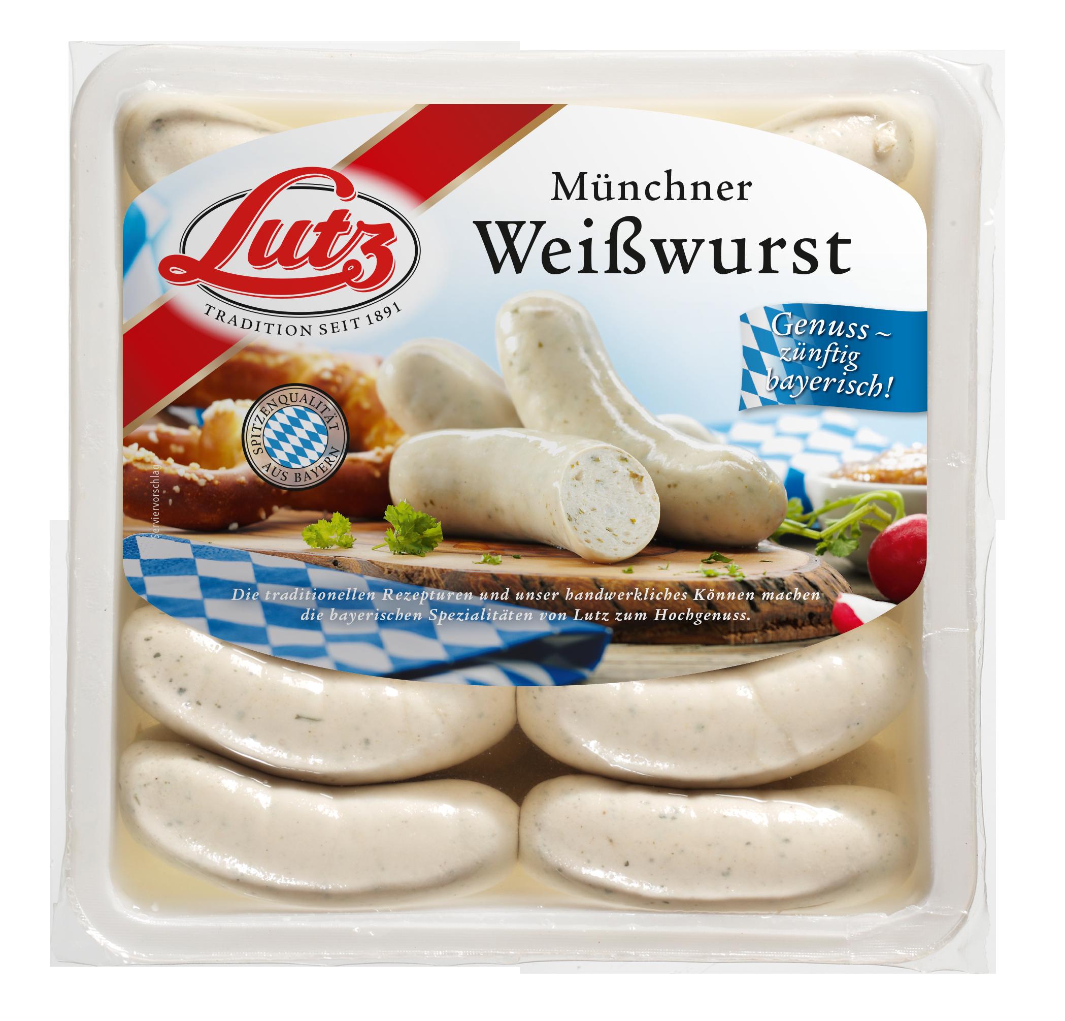 Weißwurst in der Lake