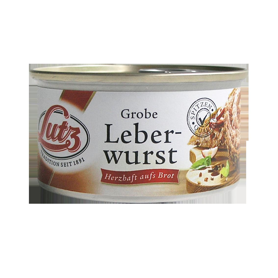 Leberwurst grob