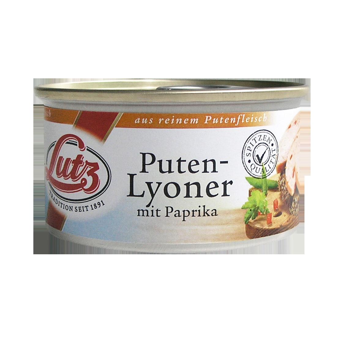 Puten-Lyoner mit Paprika