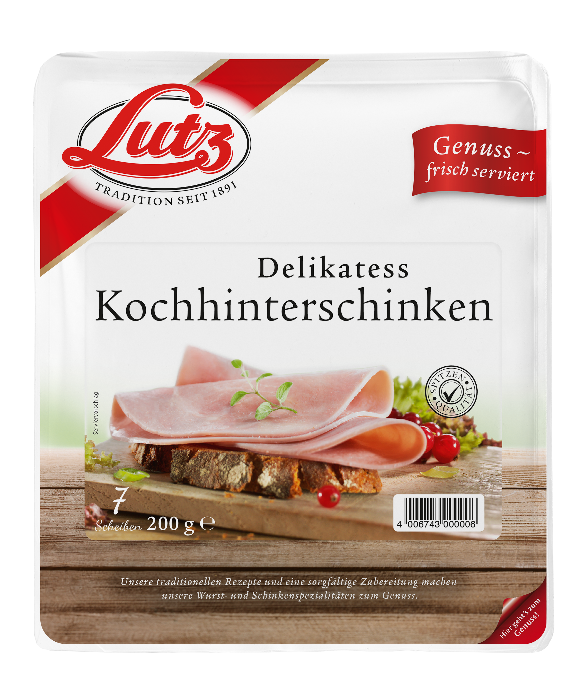 Delikatess Kochhinterschinken